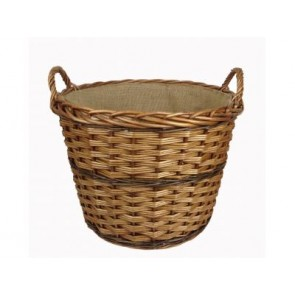 Double Steamed Log basket with Lining
