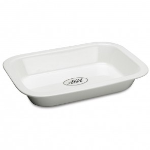 AGA White Ceramic Roasting Dish