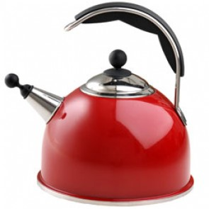 AGA - W2880 - Claret Whistling Kettle
