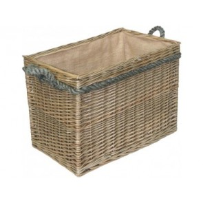 Medium Rectangular Log Basket