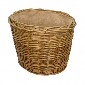 Small Green Ash Oval Log Basket