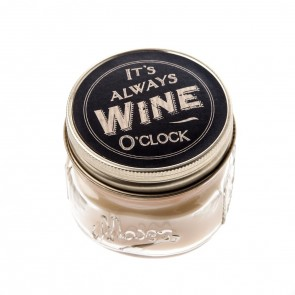 It's always wine o' clock candle