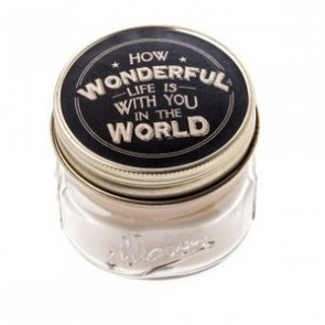 How Wonderful life is with you in the World candle