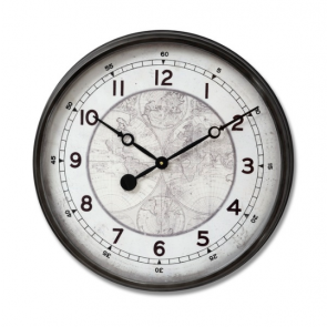 World Map Clock