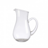 Oblique Glass Jug - 0.5L