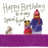 Alex Clark Special Friend Large Sparkle Card