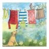 Alex Clark Washing Line Mini Print