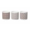 Parlane Clifton Brown Ceramic Tea Lights