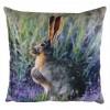 Hare Velvet Cushion 43cm