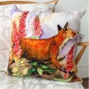 Alex Clark Fox & Foxgloves Cushion