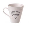 Porcelain Mug - Life's Truest Happiness
