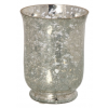 Parlane Hurricane Mirror Crackle Candle Holder