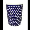 Frogeye Polish Pottery Utensil Jar