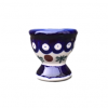 Cranberry Polish Pottery Egg Cup