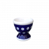 Frogeye Polish Pottery Egg Cup
