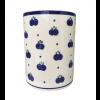 Blueberry Polish Pottery Utensil Jar