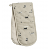 Purrfect Double Oven Gloves By Sophie Allport