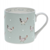 Chicken & Egg Coloured Mug by Sophie Allport