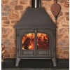Stovax Stockton 11 wood burning two door high canopy