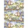 Alex Clark Owls Tea Towel