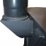 Top Rear Flue Extension