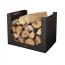 Mild Steel Contemporary Log Basket