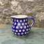 Polish Pottery Small Cream Jug in Frogeye