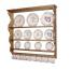 Penny Pine Plate Rack Display