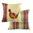 Painted Pheasant Cushion