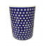 Hand Painted Polish Pottery Frogeye Large Utensil Jar