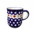 Boleslawiec Straight Sided Mug in Cranberry