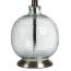 Rimini Glass Table Lamp base detail