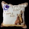 Alex Clark Love you to the Moon Cushion