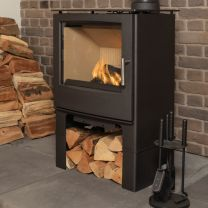 Mendip Woodland Large Stove with Store Stand