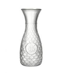 Parlane Honeycomb & Bee Glass Carafe