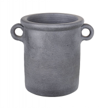 Parlane Barrow Pot in Dark Gray