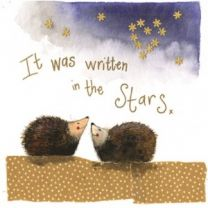 Alex Clark It Was Written In The Stars Large Sparkle Card