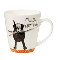 Alex Clark Old Dog New Sticks Mug