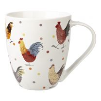 Large Alex Clark Rooster Crush Mug by Churchill China