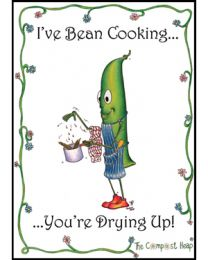 Bean Cooking Teatowel