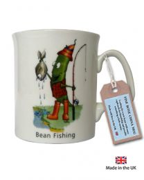 Bean Fishing Mug by The Compost Heap -  Fine Bone China