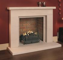 Beckford Portuguese Veined Limestone Fireplace