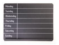 Weekly Planner Chalk Board