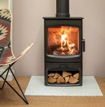 Charnwood Aire Stove with Store stand