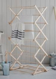 Beech Folding Clothes Horse