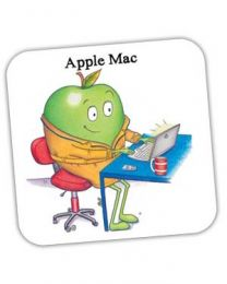 Apple Mac Coaster