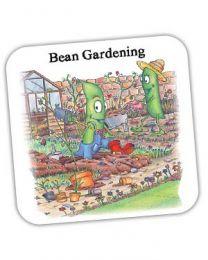 Bean Gardening Coaster