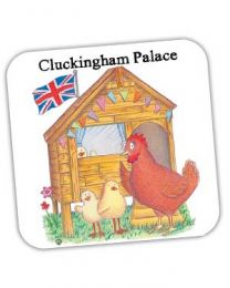 Cluckingham Palace Coaster