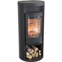 Contura 620 Style With Log Store and Warming Shelf