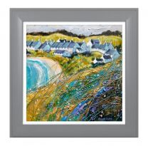 Artko Crueden Bay SE Framed Print by Deborah Phillips